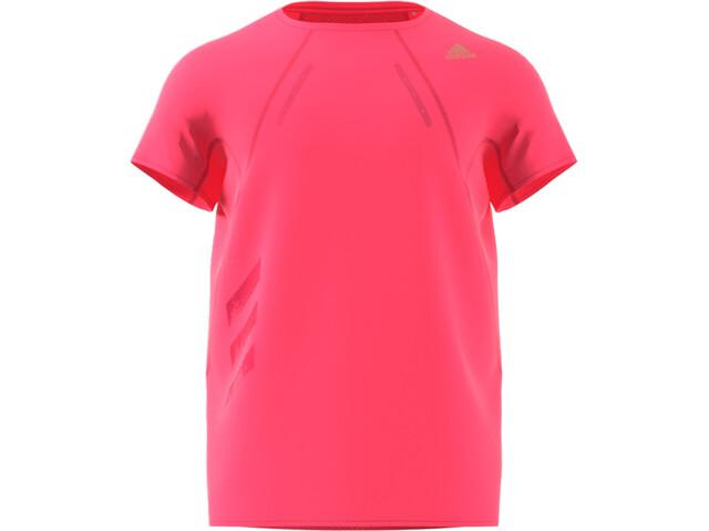 adidas Heat.RDY Camiseta Manga Corta Hombre, rosa